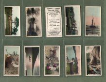 Cigarette cards British Countryside The Homeland  poetry set 1926